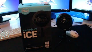 Blue Snowball Ice Black Unboxing and Audio Test!