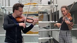 Julian Rachlin & Sarah McElravy - Mozart's Sinfonia Concertante - Cadenza