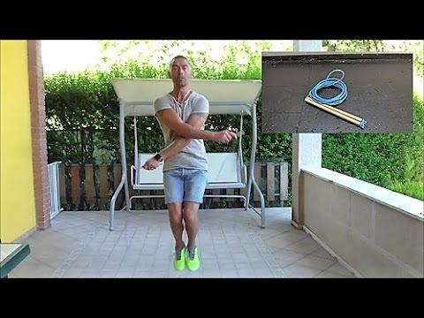 Come fare una corda per saltare Fai da te - Jump Fit DIY - YouTube