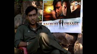 Kachche Dhaage - Movie Making - Ajay Devgan & Saif Ali Khan