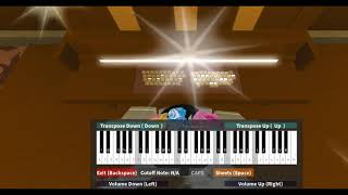 Entry Of The Gladiators-Roblox Piano Cover