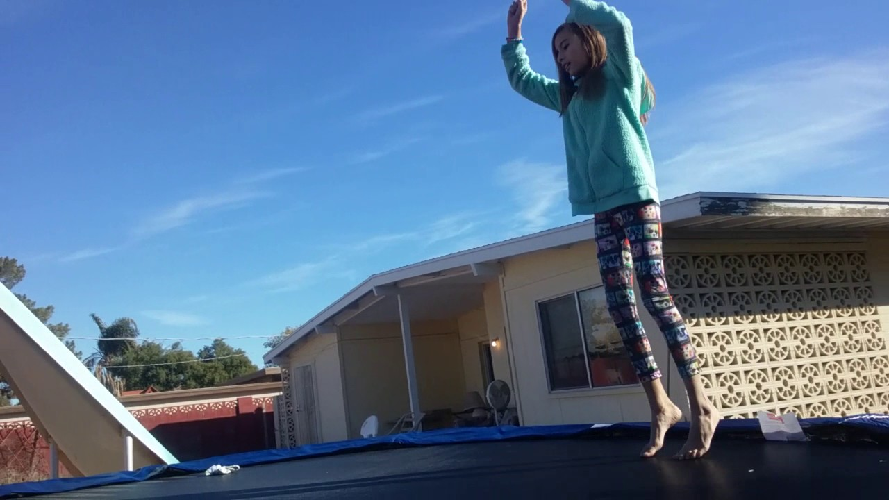 The Front and back Pullover Trampoline Tricks