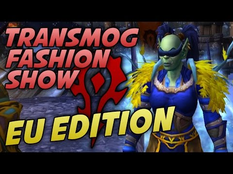 Swifty's EU HORDE Transmog Fashion Show w/ Viewers! - WoW Legion 7.1.5