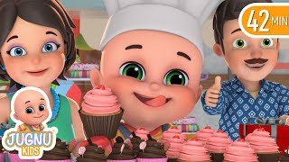 daddy songs for baby girl | Learn English | Jugnu Kids Nursery Rhymes & Kids Songs