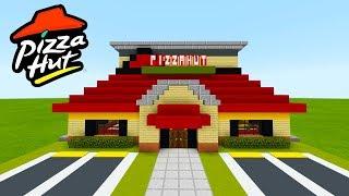 "Minecraft Tutorial: How To Make A Pizza Hut (Restaurant) ""2019 City Tutorial"""