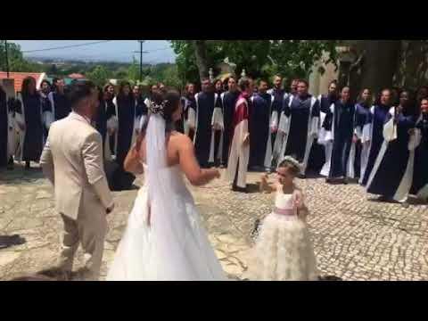Casamento Sérgio Rosado saída da igreja