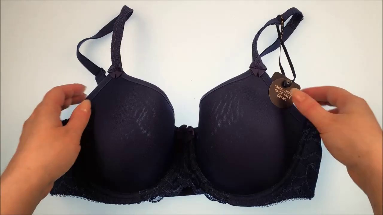 430ebc55fc Fantasie FL9421 Rebecca Lace UW Full Cup Spacer Bra Marine - YouTube