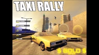 TAXI RALLY GOLD FIRST INTRODUCTION !! SUPER GAME