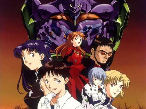 anime that jazz - zankoku na tenshi no thesis (evangelion)