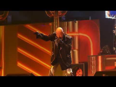 """Lightning Strike (1st Time live)"" Judas Priest@Mohegan Sun Arena Wilkes-Barre, PA 3/13/18"