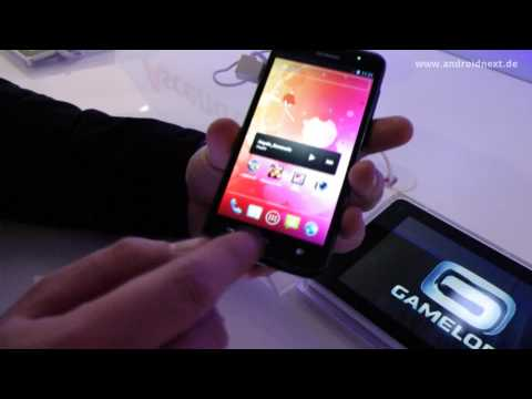 Huawei Ascend D quad (XL) - Hands-On - MWC 2012 - androidnext.de
