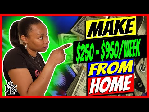 Work From Home | Earn $250 - $950 Per Week | Data Entry Jobs