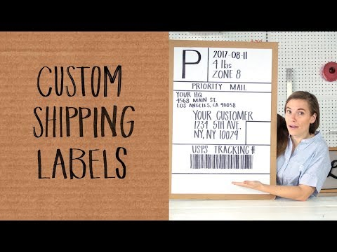 How to Customize Your Shipping Labels