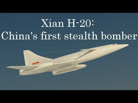 US Confirms China's New Xian H-20 Stealth Bomber will Carry Nuclear Weapons