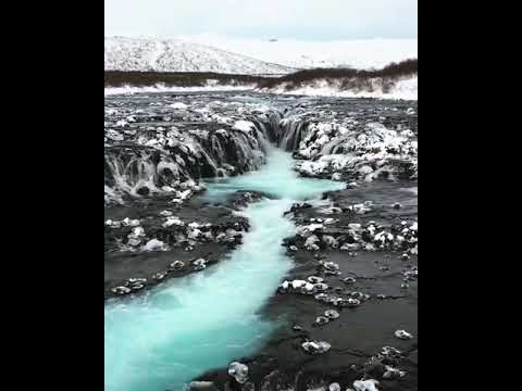 Bruarfoss, Iceland 🇮🇸💦❄️