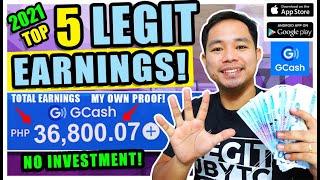 TOP 5 LEGIT & PIΝAKA MALAKING KITA: KUMITA NG P36,530 FREE! WITH OWN PROOF FREE GCASH & PAYPAL MONEY