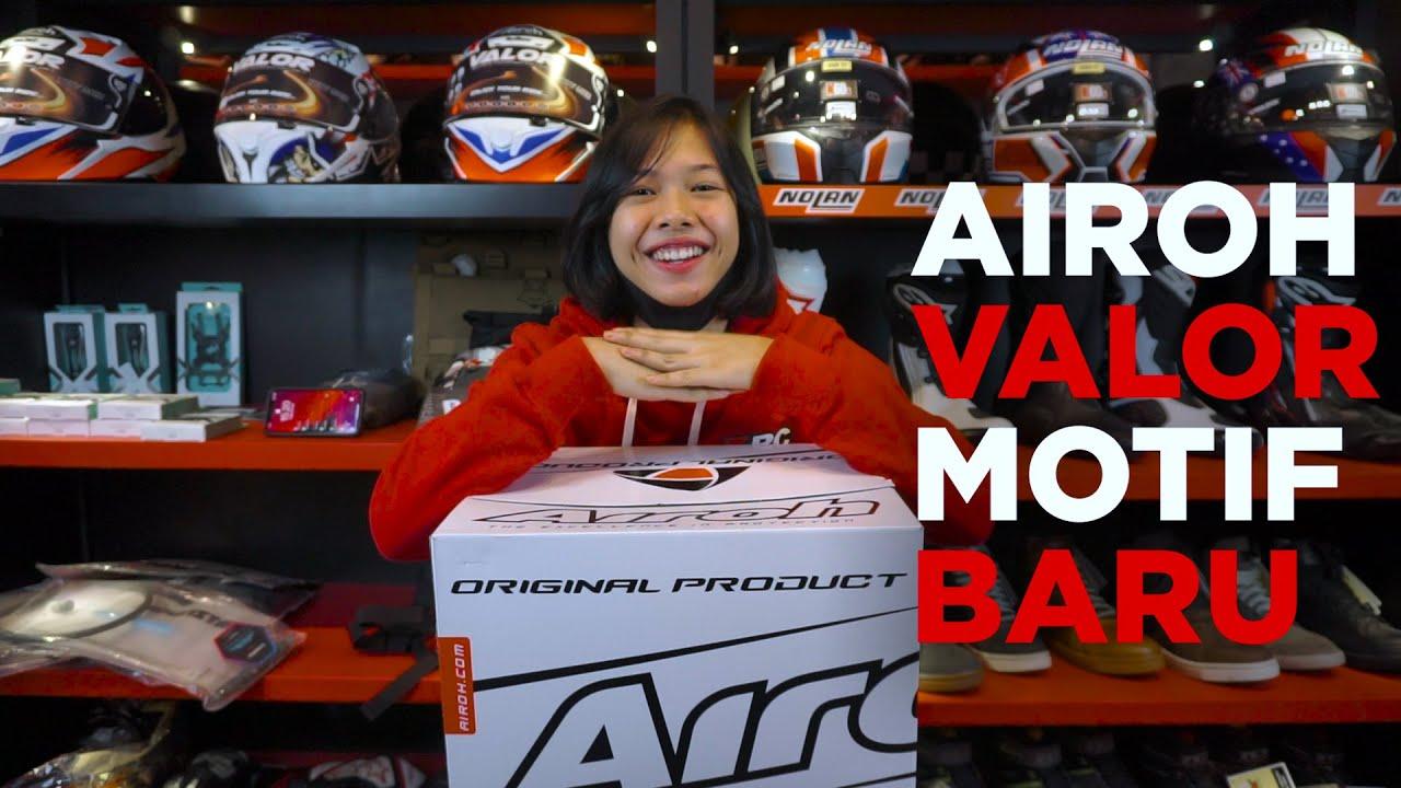 Airoh Valor Motif Baru! - RC Unboxing -