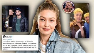 Gigi Hadid just ENDED Jake Paul... yikes