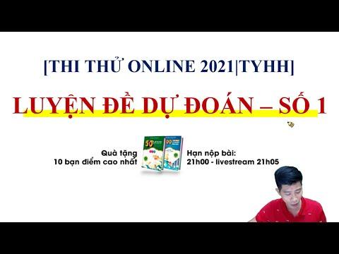 CHỮA ĐỀ DỰ ĐOÁN 2021 - ĐỀ SỐ 1 | Livestream môn Hóa | Thầy Phạm Thắng + TYHH