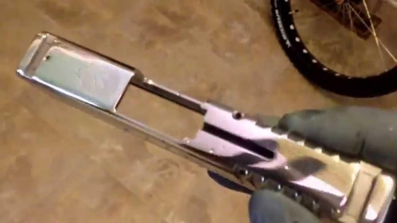 Springfield XDs 45 ACP PolishingBarrel Polishing Slide