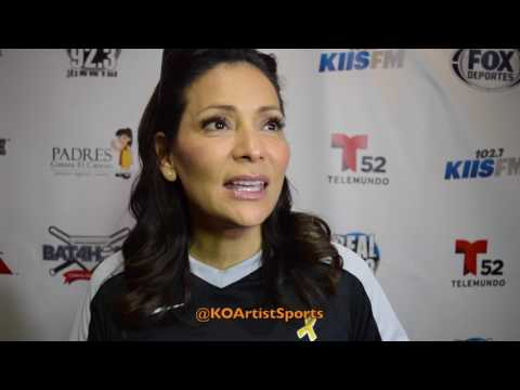 CONSTANCE MARIE IS THE SWEETEST! TALKS SUPPORTING CANCER VICTIMS AND CHARITY BASEBALL GAME!