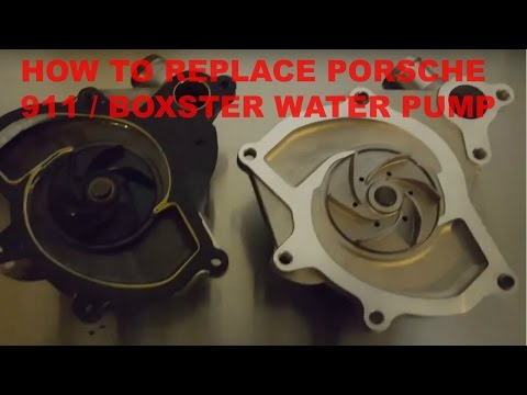 How to replace Porsche 911 or Boxster water pump