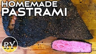 How To Make Your Own Pastrami At Home - Homemade Smoked Pastrami