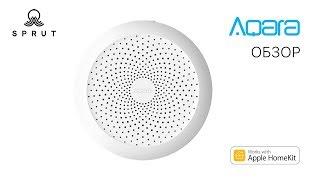 Огляд Aqara HomeKit Hub, зробимо розумний будинок? Порівняння з Xiaomi Mijia GateWay + broadlink + конкурс