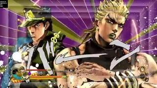 jojo s bizarre adventure eyes of heaven dio and jotaro vs pucchi and jolyne