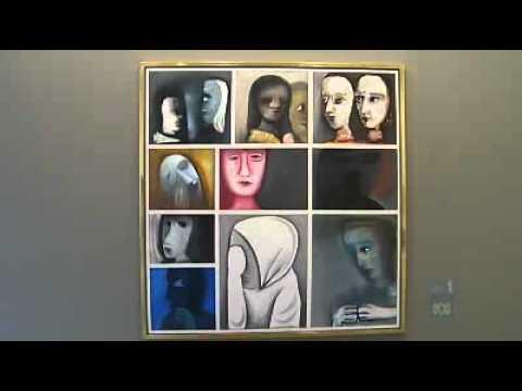 Charles Blackman makes artistic return