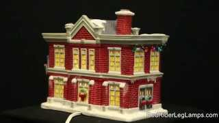 Department 56 A Christmas Story Village Cleveland Elementary School