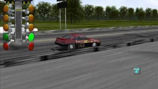 IHRA DRAG RACING GAME (NITROUS MUSTANG)