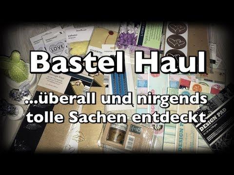 Bastel Haul (deutsch), Schnäppchen, Sale, Bastelidee, neue Blöcke, Sticker DIY, Scrapbooking
