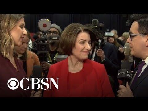Amy Klobuchar desperately wants an Iowa moment. Impeachment is ...