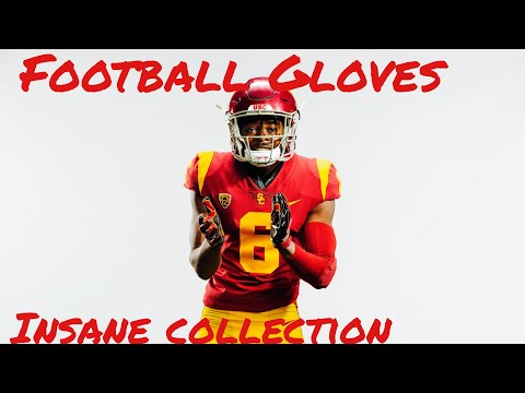 USC D1 Athlete Shows NIke Football Gloves Collection