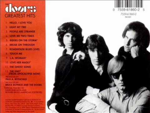 The Doors Greatest Hits 02 Light My Fire Youtube