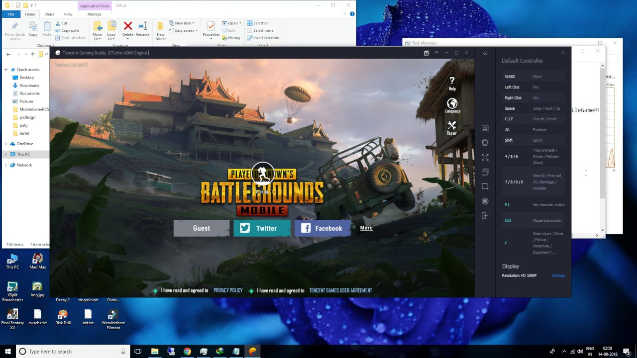 PUBG 8 0 tencent New Emulator loading screen crash fix + redownloading in  loop issue fixed :)