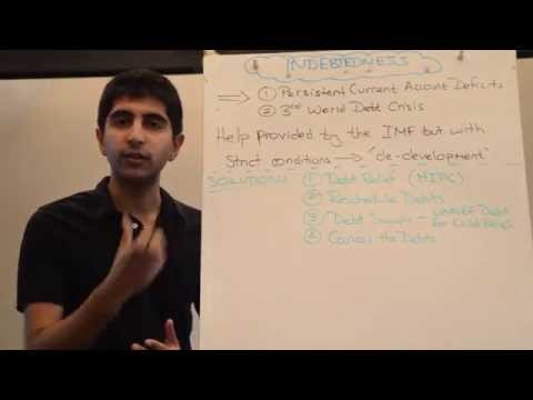 Y2/IB 22) Indebtedness, Development and Solutions to Indebtedness