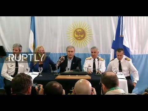 LIVE: Argentinian Def Min holds press conference on discovery of missing submarine