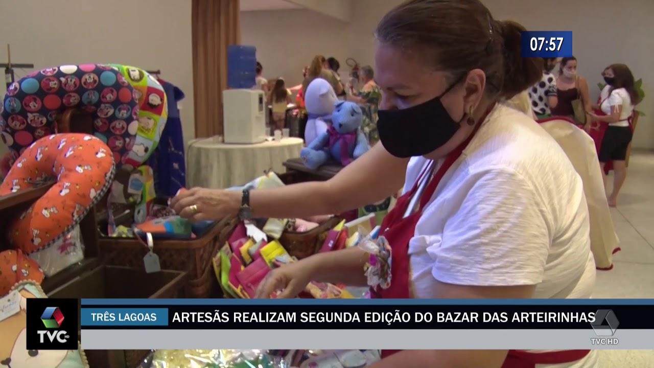 Artesãs realizam segunda edição do bazar das arteirinhas