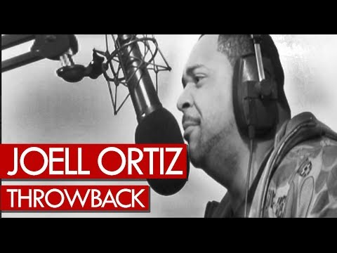 Joell Ortiz freestyle over Dr. Dre beats - never seen before throwback to 2008!