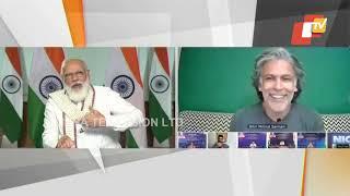 Milind Soman Convinces PM Modi 'Fitness Knows No Age'