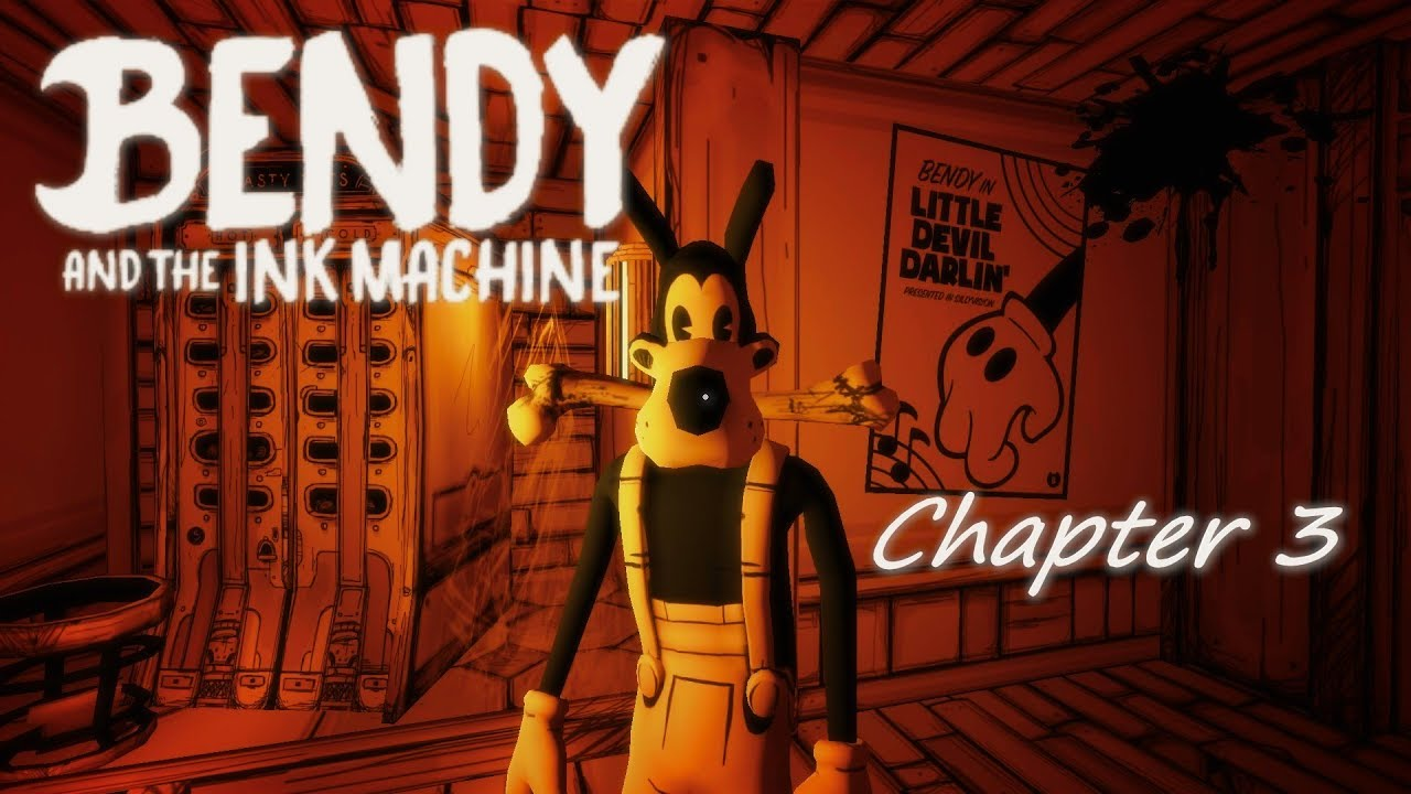 Bendy and the ink machine chapter 3 part 2 - Don't take Boris!!!