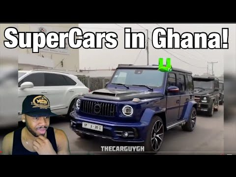 WOW! THE SUPERCARS IN GHANA ARE NEXT LEVEL!