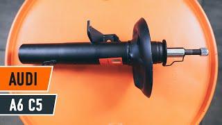 Pamācība: Kā nomainīt AUDI A6 C5 Priekšas amortizatori