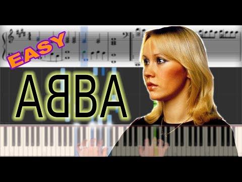 ABBA - Dancing Queen   Sheet Music & Synthesia Piano Tutorial thumbnail