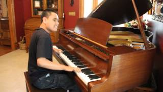 CRAZY TRAIN - OZZY OSBOURNE Piano Cover By Blind Piano Prodigy Kuha