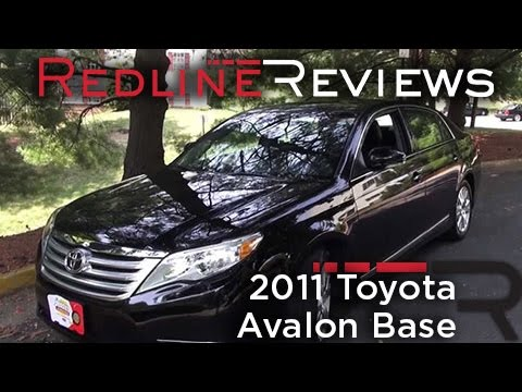 2011 Toyota Avalon Base Walkaround, Start Up, Review, Test Drive