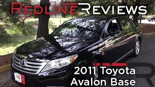 Toyota Avalon 2012 Videos