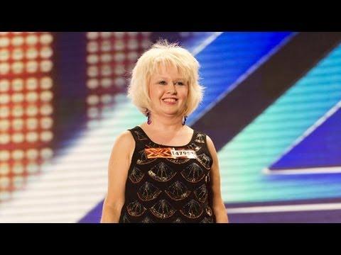 Alison Brunton's audition - Lady Gaga's The Edge Of Glory - The X Factor UK 2012